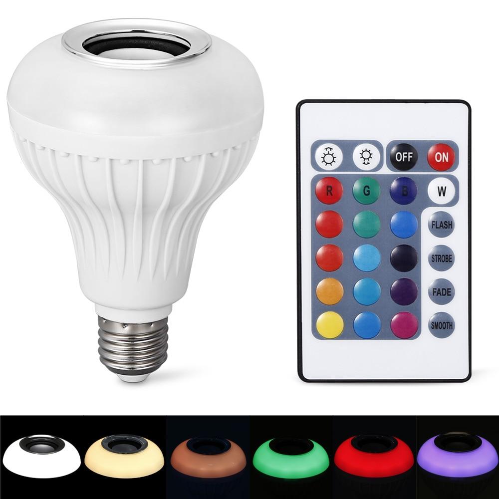 new generation led rgb wireless bluetooth speaker bulb 12w e27 led rgb light music playing lamp. Black Bedroom Furniture Sets. Home Design Ideas