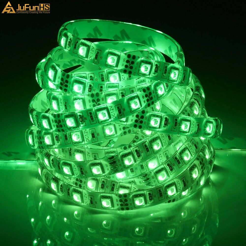 5M 300 LED fleksibilna traka za svjetla 5050 SMD 12V vodootporna - Svjetla automobila - Foto 4