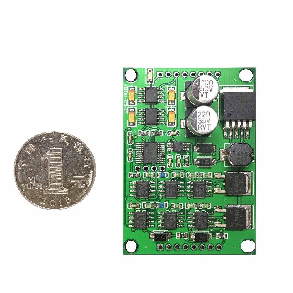 DAC8562 deux 16 bits DA module 0-10 V 4-20mA sortie MODBUS TTLDAC8562 deux 16 bits DA module 0-10 V 4-20mA sortie MODBUS TTL