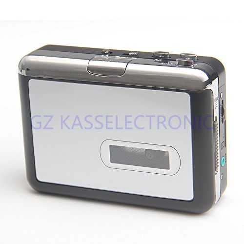 2017 New Portable USB Cassette Player Recorder In SD TF Card, Auto Reverse Playback Headphones   Free Shipping