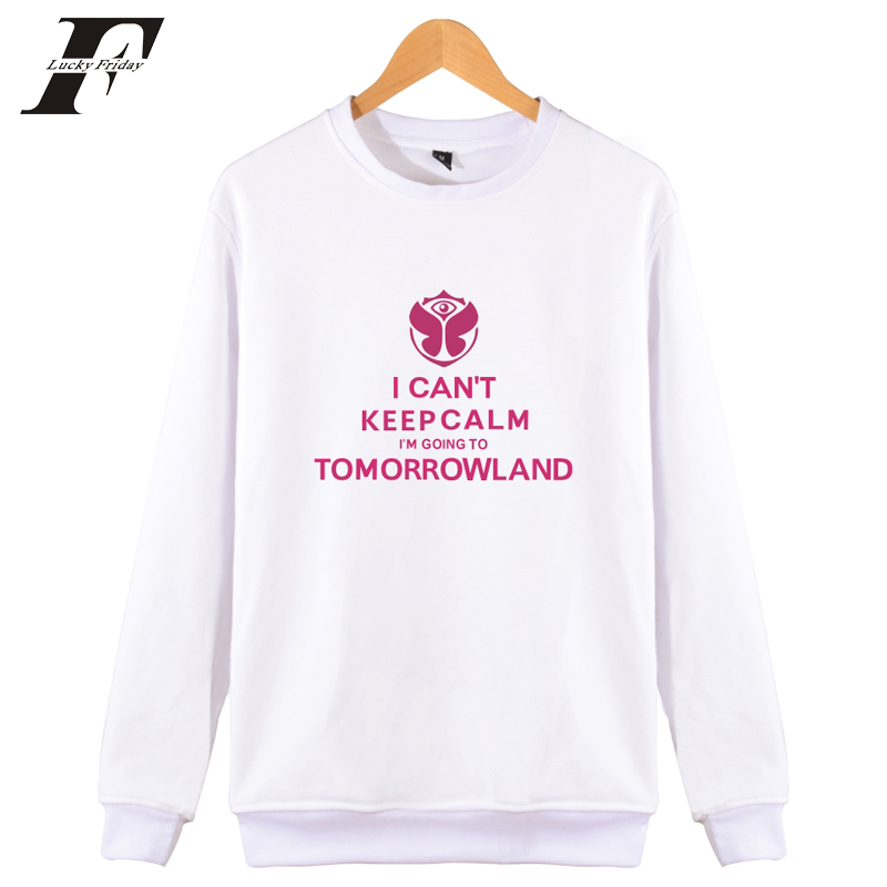 2018 TomorrowLand Electronic music festival moletom Men/Women tracksuit streetwear winter Hoodies Sweatshirts Pullovers 4xl