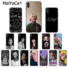 MaiYaCa cantante de Rap Lil Peep funda de teléfono de alta calidad para iPhone 5 5Sx 6 6 7 7plus 8 8Plus X XS X MAX XR