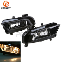 POSSBAY Car Front Fog Light for Audi A4 Avant 2013/2014/2015/2016 Super Bright Auto Bumper Lamb External Light Source Styling