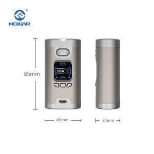 Image 5 - Originele Hcigar Wildwolf 235W Tc Doos Mod Vape Dual 18650 Batterij Tft kleurenscherm Vape Mod Elektronische Sigaret Verdampen mods