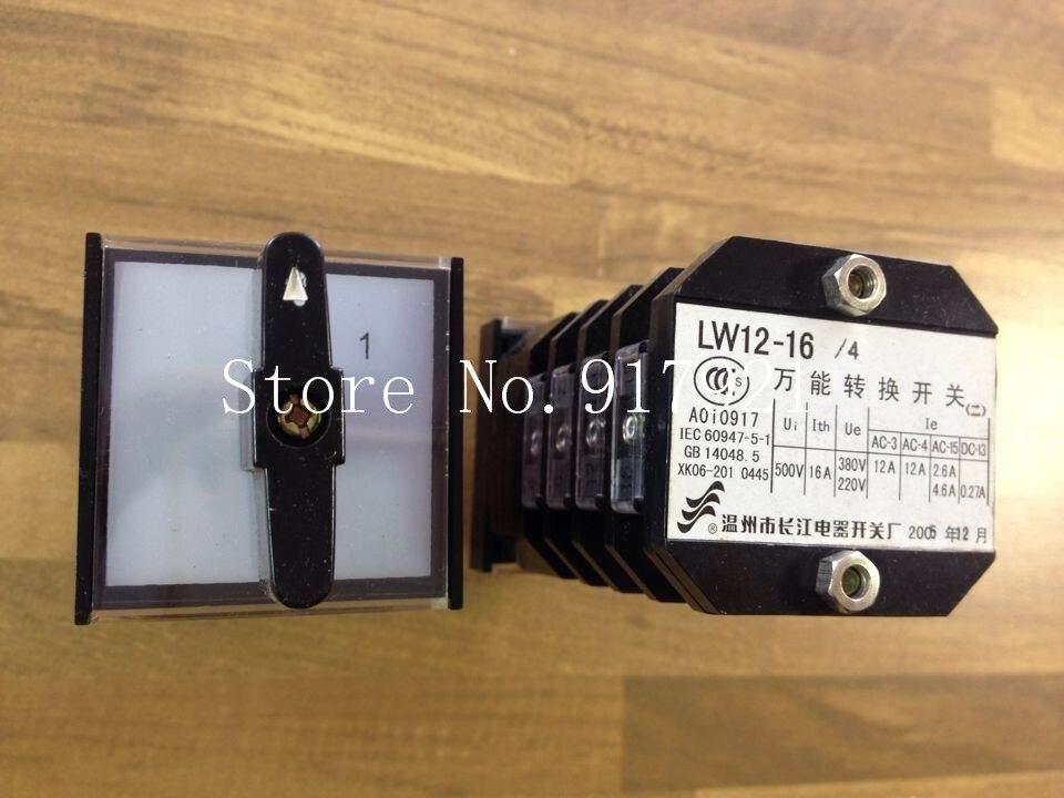 [ZOB] Long letter LW12-16/4 universal switch 16A --5pcs/lot