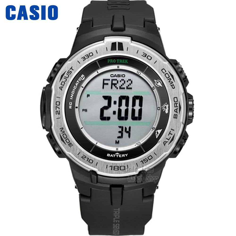Casio watch Mountaineering series of solar energy mountain climbing male watch PRW-3100-1 PRW-3100G-3P PRW-3100Y-1B casio watch solar outdoor sports climbing table waterproof male watch prw 3000 1a prw 3000 1d prw 3000 2b prw 3000 4b