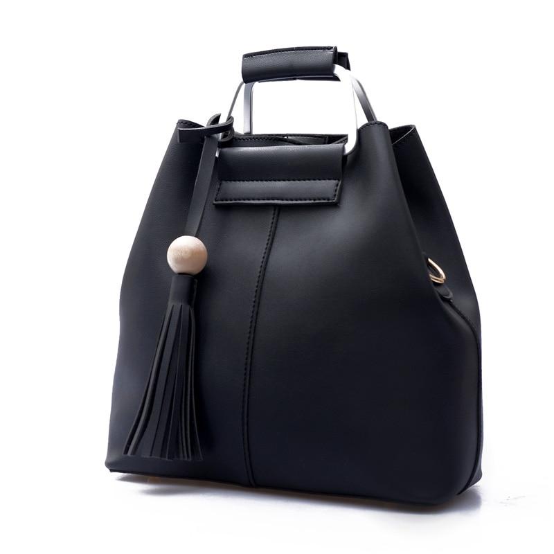 women leather handbag crossbody tote bag over shoulder Diamond Lattice Shell England Style Bear solid zipper Thread ladies bolsa