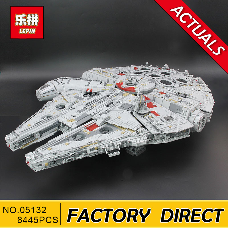 Lepin 05132 Star Plan Series 8445PCS The Ultimate Collector's Destroyer Set 75192 Building Blocks Bricks Christmas Gift Kid Toys dhl lepin 05132 star toy wars the 75192 new millennuium falcon star destroyer set building blocks bricks kid toys christmas gift