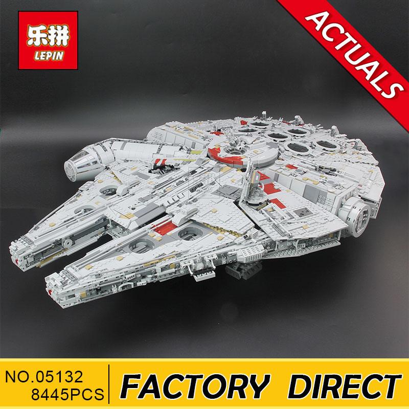 Lepin 05132 Star Plan Series 8445PCS The Ultimate Collector s Destroyer Set 75192 Building Blocks Bricks