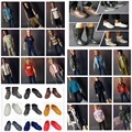 NEW Arrival Fashionable KEN Clothes and Shoes Suits For Boyfriend Ken Dolls Denim Clothing Set 10Pcs/lot=5Clothes suits + 5Shoes