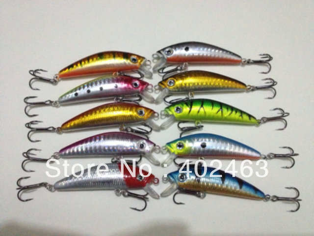 Free shipping sales promotion sinking fishing lures hard plastic fishing bait  Dual Hooks  7cm 8.5g