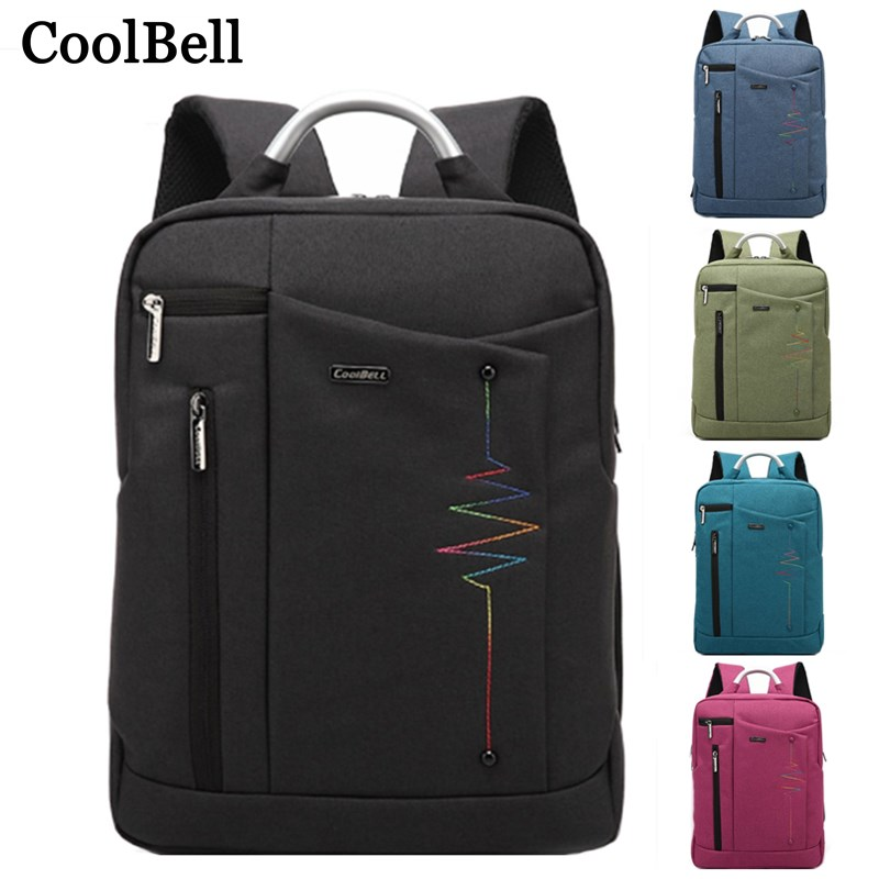 Detail Feedback Questions about CoolBell Waterproof handbag Travel Large  Capacity Backpack for macbook pro 15 15.4 15.6 inch 14 Teenagers Notebook  laptop ... 359de4a4e5a4a