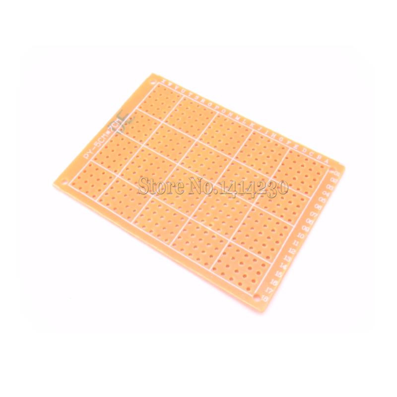 5*7CM PCB Breadboard Universal DIY Phototype Board Single Side