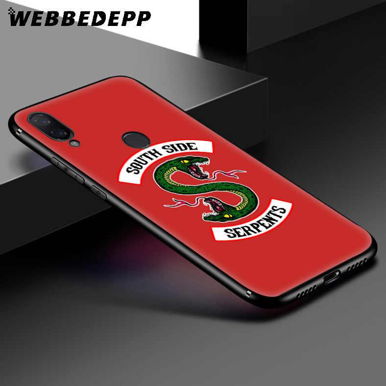 WEBBEDEPP Riverdale South Side Soft สำหรับ Xiaomi Redmi K20 7A 4A 4X5 5A 6 6A S2 หมายเหตุ 8 4X5 6 5A 7 Pro Plus Prime
