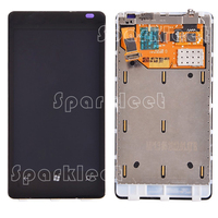 LCD Screen For Nokia Lumia 800 LCD Display Touch Screen Digitizer Assembly With Frame Replacement Part