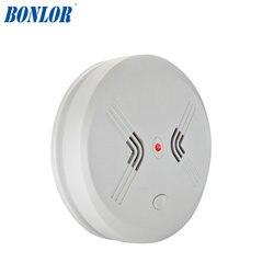 Darmowa wysyłka 2018 BR 435 wysoka czułość komunikaty głosowe dym detektor ognia/czujnik z system alarmowy w domu Detektor dymu    -