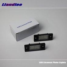 Liandlee для Volkswagen VW Polo Sedan/Polo Sport 2003~ 2008 автомобильные номерные знаки Подсветка рамки номера/высококачественный светодиодный фонарь