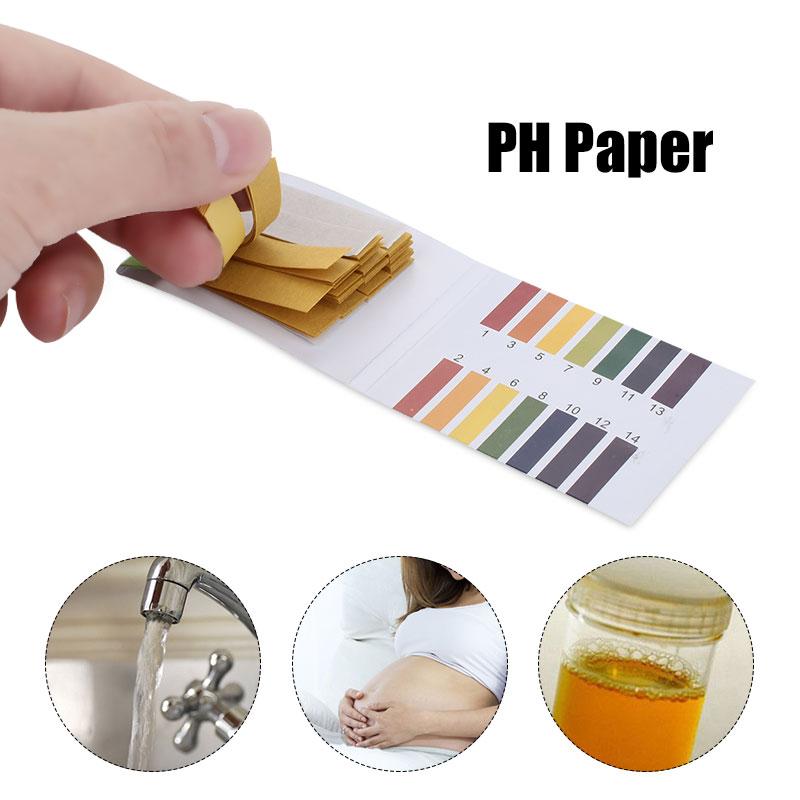 Análise de gordura corporal líquida amniótica ph017 1-14 diabetes portátil durável teste de dipstick da urina do testpaper da base do ácido do papel do teste de ph