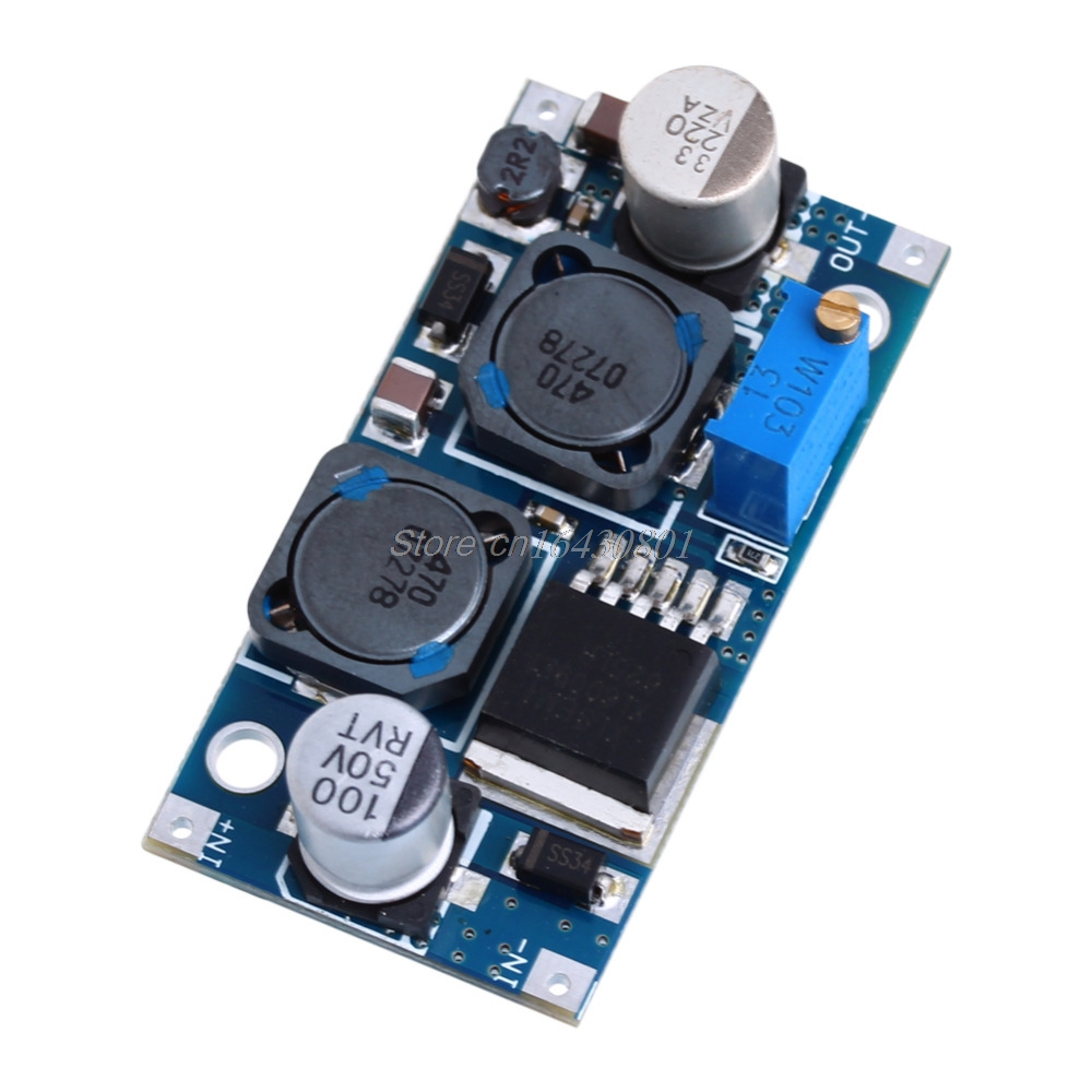 DC-DC Boost Buck adjustable step up down Converter XL6009 Module Solar Voltage S08 Drop ship xl6009 dc dc step up module boost converter adapter 4a adjustable power supply dc step up board voltage regulator replace lm2577
