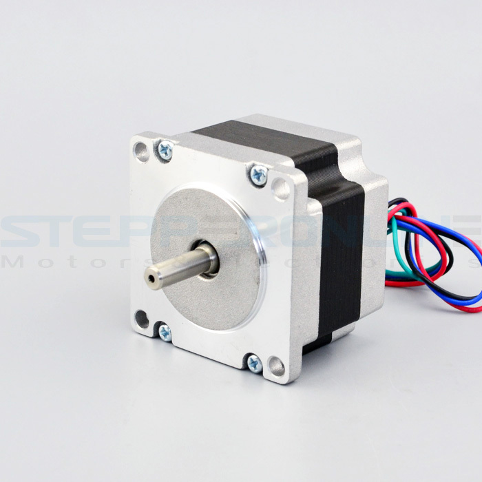 Nema 23 Stepper Motor CNC motor bipolar 4 leads 0.88A 0.6Nm(85oz.in) 20.6mm shaft 57x57x42mm for cnc printer удилище crazy fish aspen stake 2 3m 3 15g as762lt