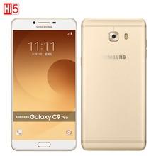 "Samsung Galaxy C9 Pro C9000 Dual SIM 16MP Qualcomm Snapdragon Octa ядро 6 ""6 ГБ RAM 64 ГБ ROM Android 6.0 4000 мАч Мобильного Телефона"