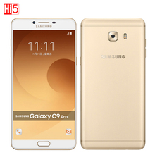 "Samsung Galaxy C9 Pro C9000 Dual SIM 16MP Qualcomm Snapdragon Octa core 6"" 6GB RAM 64GB ROM Android 6.0 4000mAh Mobile Phone"