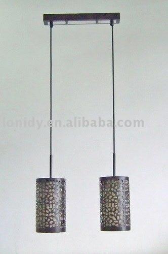 double pendant light, hanging lamp, Metal pendant lamp ...