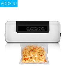 (ship from Russia) 110V/220V home food vacuum sealer, film sealer, vacuum packer including 10pcs bags free of charge