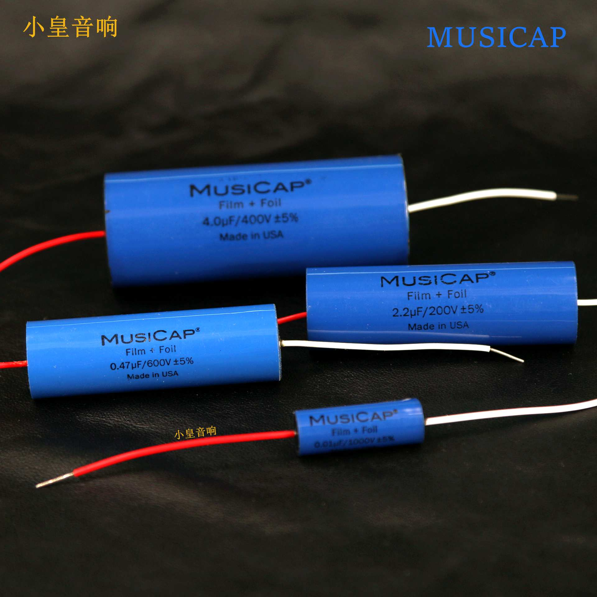 hight resolution of 1lot 2pcs american original musicap 0 01uf 5uf speaker divider capacitor axial capacitor foil polypropylene free shipping in capacitors from electronic