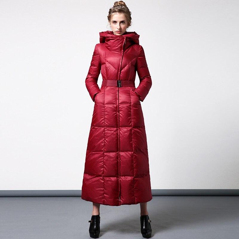 Capuchon Vers Le Femmes Chaud À Poche Nouveau Xxxxl Survêtement Hiver Long Manteau Zipper Rembourré Parkas Épais Bas 2017 Avant Coton Casual 7nnWCPY