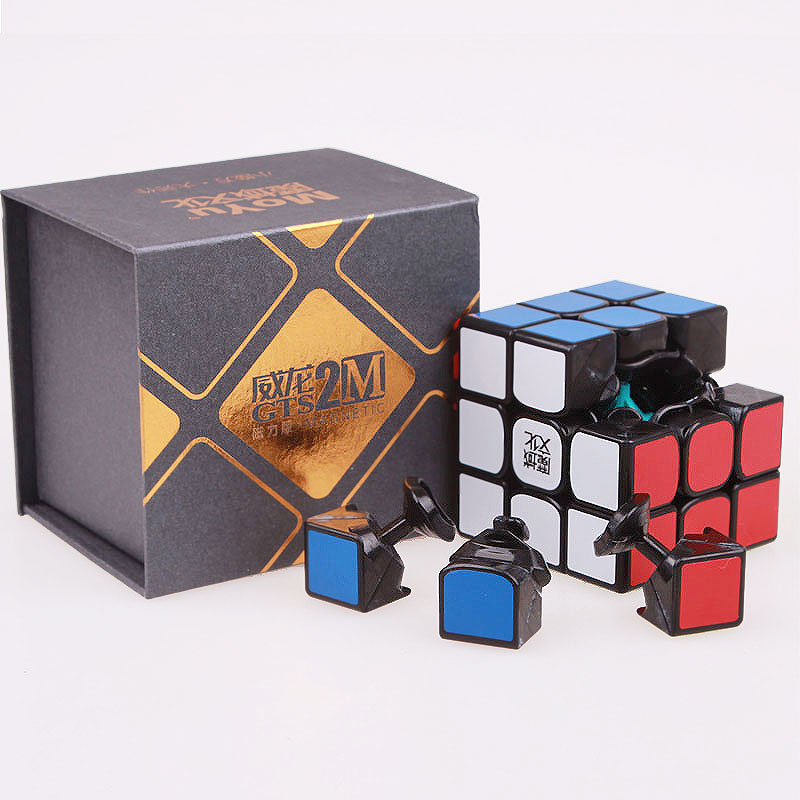 Moyu weilong gts v2 m 3x3x3 Magnetic Magic Speed Cube Professional moyu Cubo Magico gts2 magnets Puzzle Cube toys For Children