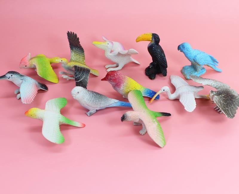 Small Toy Parrots : Popular plastic pigeon toy buy cheap