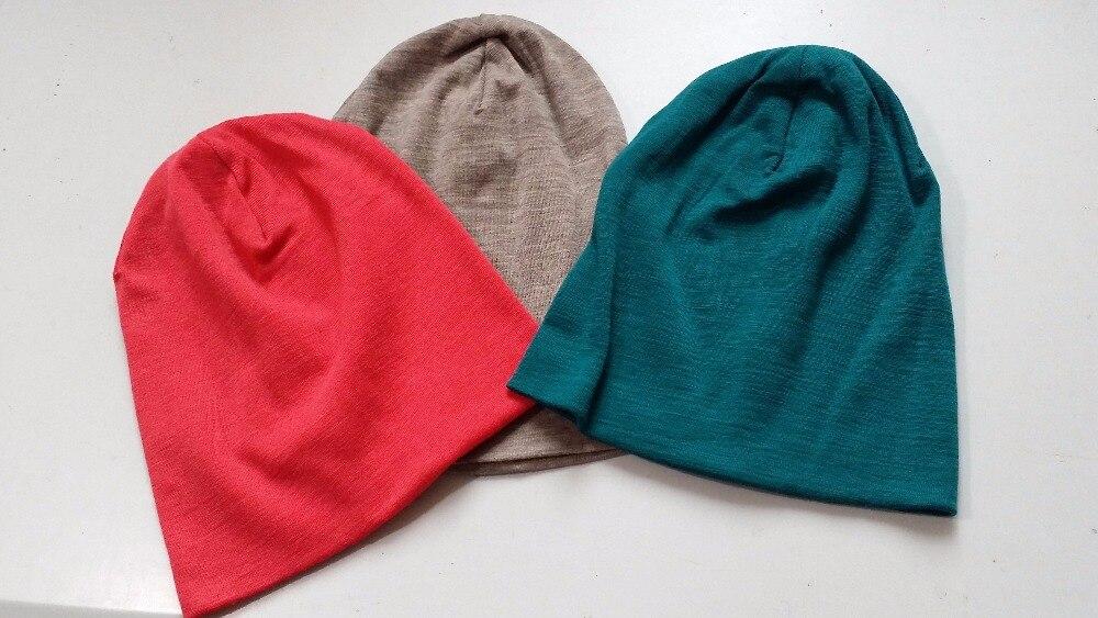 Hommes femmes 100% super fine Merino laine Beanie chapeau de course de course équitation hiver thermiques polaire bonnet sport chaud confortable laine