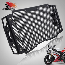 For KTM DUKE790 DUKE 790 2018 2019 Motorcycle Accessories Radiator Grille Cover Guard Stainless Steel Protection Black