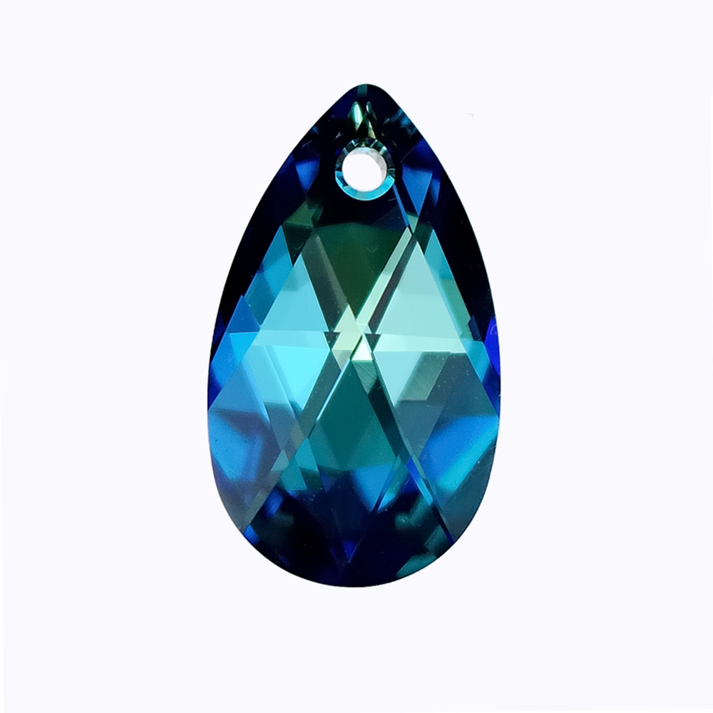 a568ffd286d45 US $1.57 39% OFF|(1 piece) crystal from Swarovski 6106 16mm 22mm Pear  Shaped pendant quality Austria loose beads for DIY jewelry making-in Beads  from ...