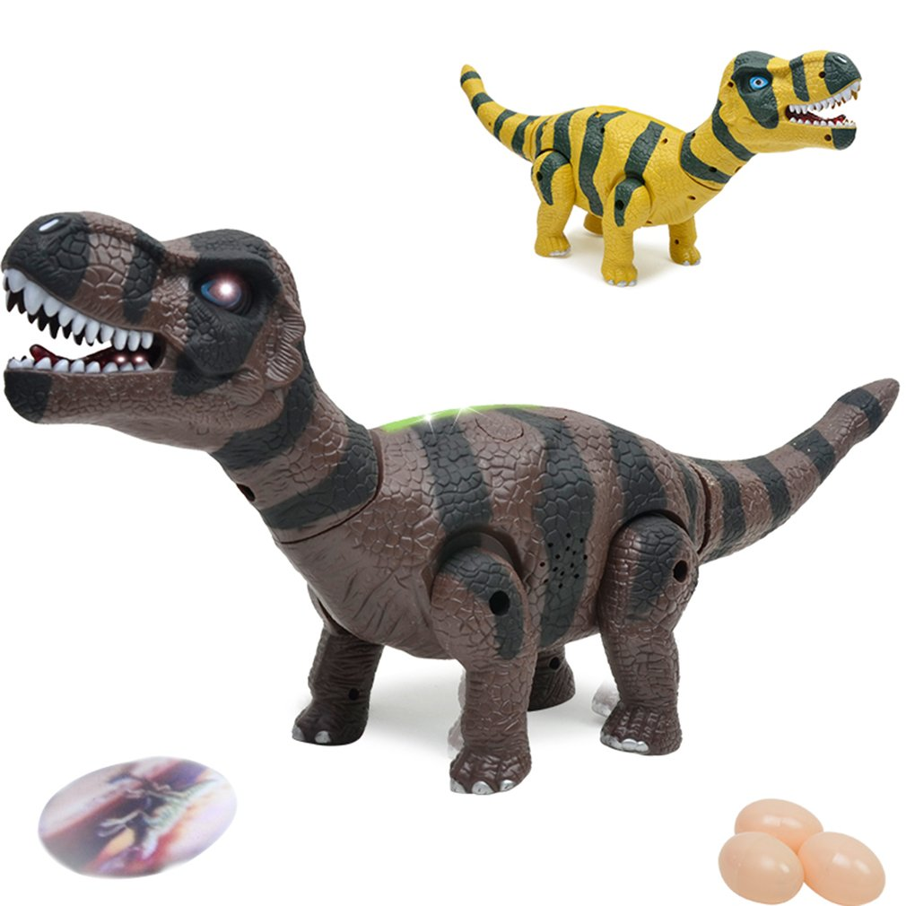 medium resolution of detail feedback questions about cute walking electric dinosaur robot toy can walk laying eggs make sound and with light tyrannosaurus rex toys gift for kids