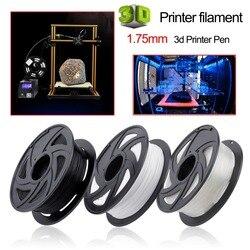 LA 3D-принтеры нити 1,75 мм 1 кг 3d Пластик нити 1,75 3D печати материалы расходные материалы для 3D-принтеры ручка нити аксессуар