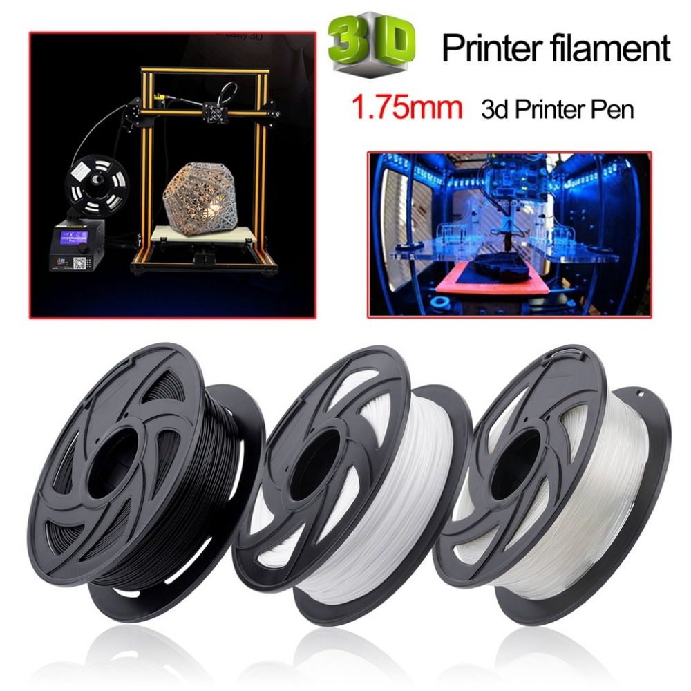 LA 3D Printer Filament 1.75mm 1KG 3D Plastic Filament 1.75 3D Printing Materials Supplies For 3d Printer Pen Filament Accessory led uv curable ink for epson 1390 printer head printing on hard materials for 3d effects 1000ml pcs 6c