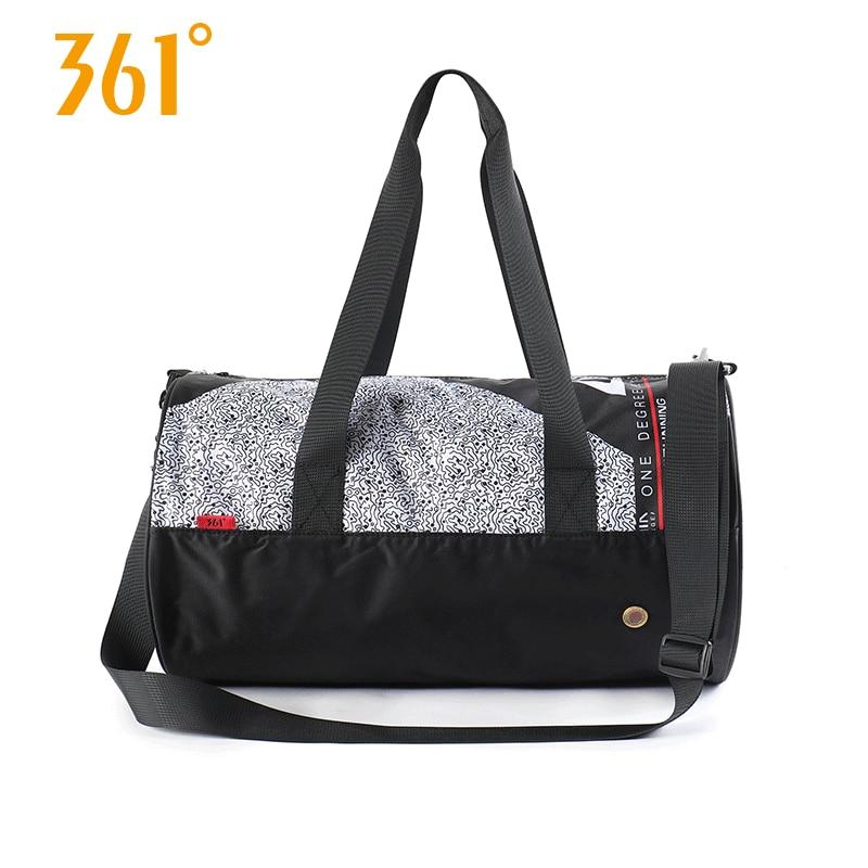 361 Sports Bags Gym Handbag Waterproof Swimming Shoulder Bag 25L Combo Dry Wet Bag Travel Camping Pool Beach Men Women Children