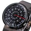 Новый 2016Men Часы Люксовый Бренд Полный Стали Кварцевые Часы Специальный Номер Часы Армии Военные Спортивные Часы Relogio Masculino