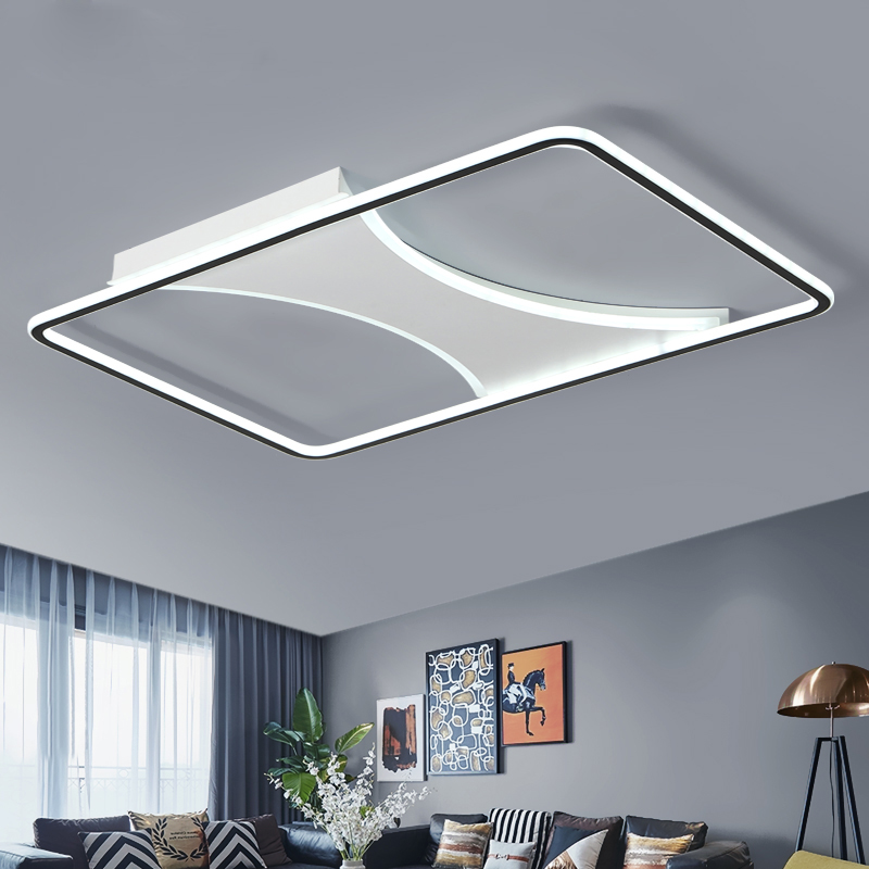 Modern LED ceiling Lights for Living Room Bedroom Kitchen LED Ceiling Lamp Dimmable with Remote Light Fixtures luminaria de teto modern led ceiling lights colorful cloud ceiling lamps for living room kitchen luminaria kids children bedroom light fixtures