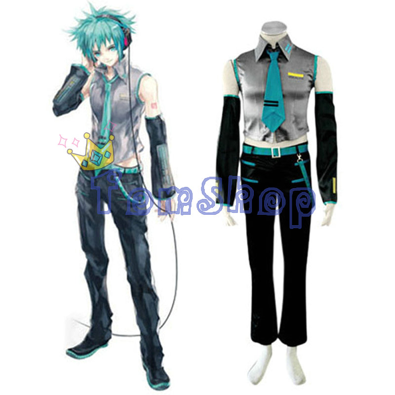 Vocaloid Mikuo Cosplay Uniform Suit Full Set Men s Halloween Costumes High Quality Custom made Free