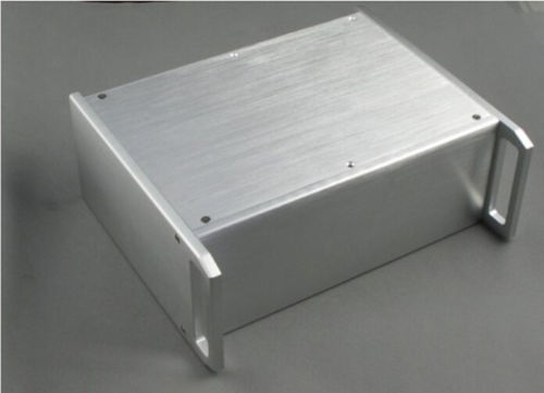 ФОТО Breeze Audio BZ3212 aluminum amplifier enclosure handle chassis/amp case. aluminium chassis diy power amplifier chassis