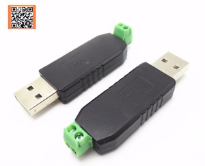 1pcs Only good quality USB to RS485 485 Converter Adapter Support Win7 XP Vista Linux Mac OS WinCE5.0(China)