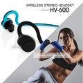 2017 Mais Novo HV600 MTK4.1 Escalável waterproof sweatproof Fone de Ouvido Bluetooth Estéreo Sem Fio fone de ouvido Bluetooth Para O esporte telefone MP3