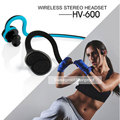 2017 Newest HV600 Wireless Bluetooth headset MTK4.1 Stereo Bluetooth Earphone Scalable waterproof sweatproof For sport phone MP3
