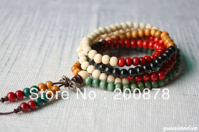 Beautiful 216 Beads Multicolor Jewellery Tradition Chinese Style