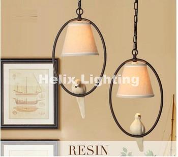 Loft Vintage Industrial Lámpara Colgante Retro Edison Luz