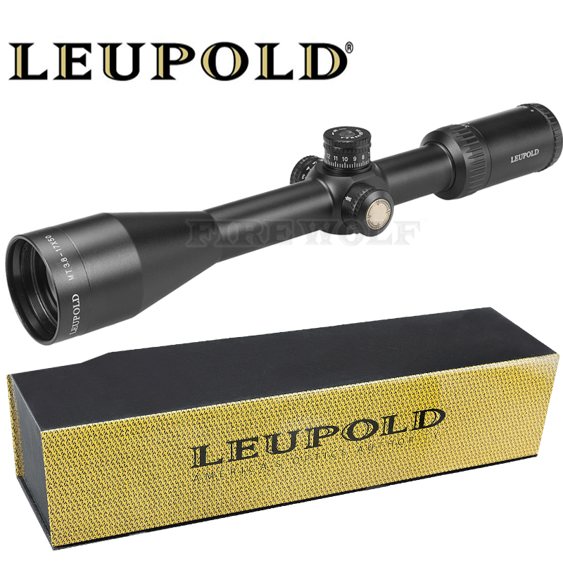 LEUPOLD MT 3.8-17x50 SFIR Mil-dot Illuminated Red Dot Sight Tactical Optical Riflescope For Rifle