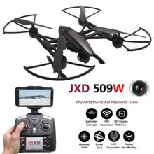 JXD 509 W Quadcopter FPV Drons Avec Caméra HD WIFI Quadrocopter camara Drones Com Caméra Sans Tête Mode Rc Helicoptero